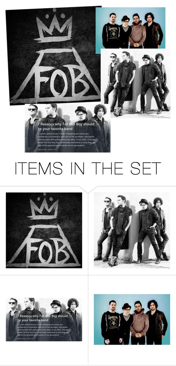 """Random Fall Out Boy"" by youngblooded-killjoys ❤ liked on Polyvore featuring art"