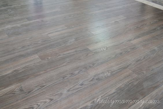 Installing Laminate Flooring By The Diy Mommy Allen