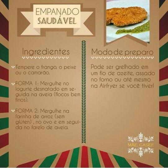 Empanado saudavel