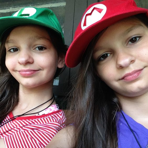 Our Mario Bros Hats