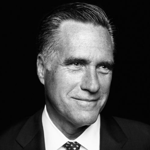 "Mitt Romney, 2012 Republican Candidate for President. From ""The Mind of Mitt,"" September 3, 2012 issue."
