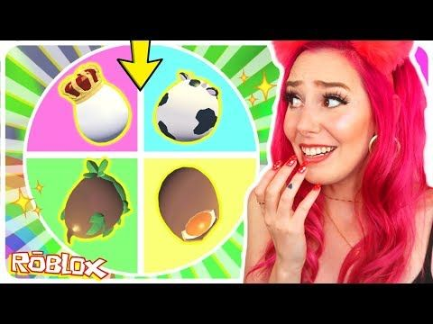 I Let A Mystery Wheel Decide Which Eggs I Opened For 24 Hours Roblox Adopt Me Trading Challenge Youtube In 2020 Egg And I Roblox Adoption