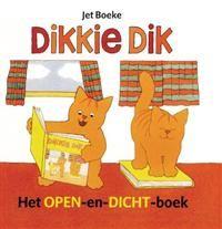 Libris | Dikkie Dik het open-en-dicht-boek / druk 1 | Jet Boeke | 9789025735333 | Prentenboeken (< 6 jaar) | Boekhandel Wijs te Houten