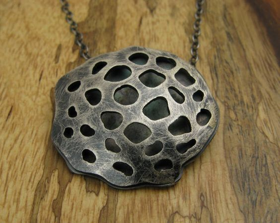 Becky Wofford's lotus necklace $88