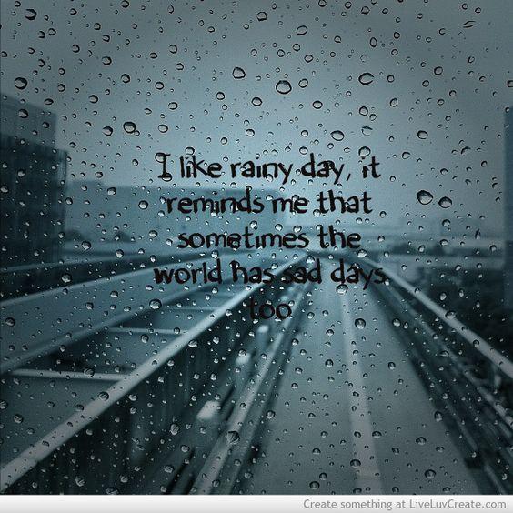 quotes about rain - Google Search | Rain | Pinterest | About Rain ...