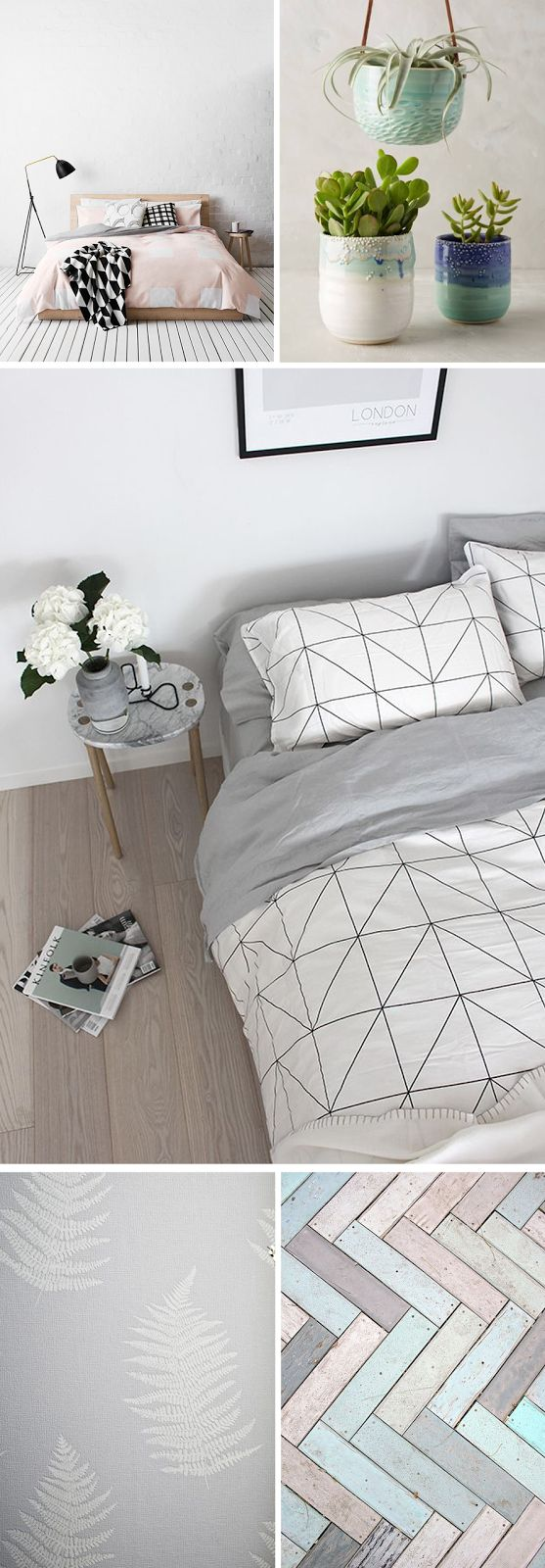 Calm and relaxing bedroom interiors help keep your mind at rest and your body revived.