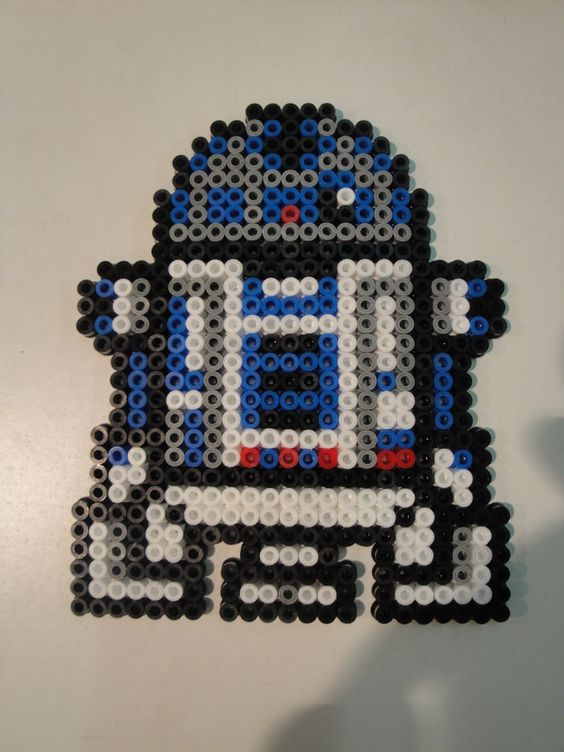 R2-D2 Hama Sprite