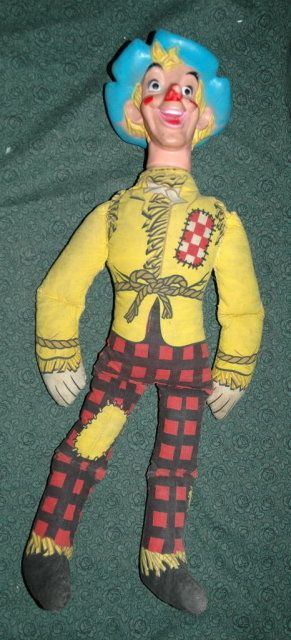 "Vintage Wizard of Oz Scarecrow Doll 22"" ** PRICE REDUCED! **"