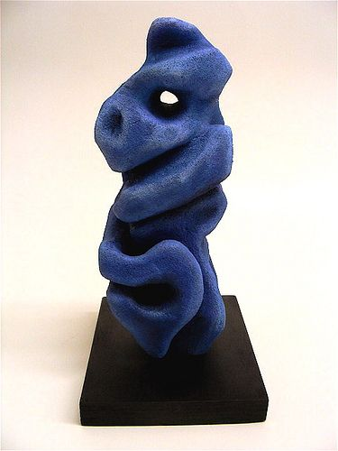 based on work of Isamu Noguchi - abstract  expressionist sculpture- student work by jodie hurt, via Flickr