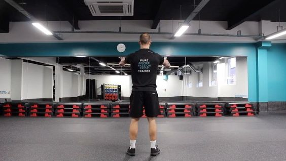 Understanding the movements created by shoulder blade and the muscles related to each can come in handy for lifting in a safe and effective manner. Heres a quick warm up drill  -  Elevation/Depression - upper/lower trapezius  Protraction/Retraction - serr