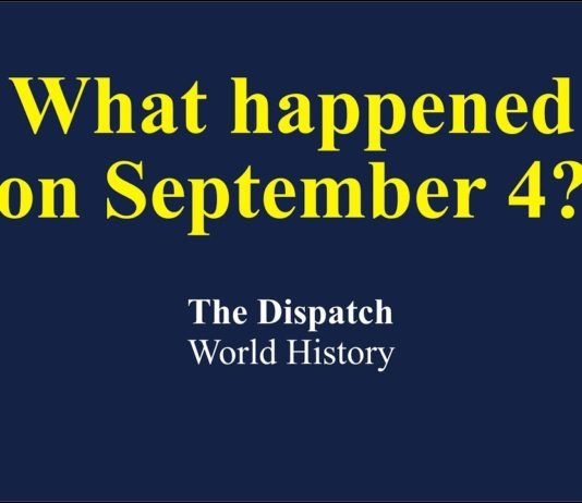 What Happened On September 4 In World History World History History