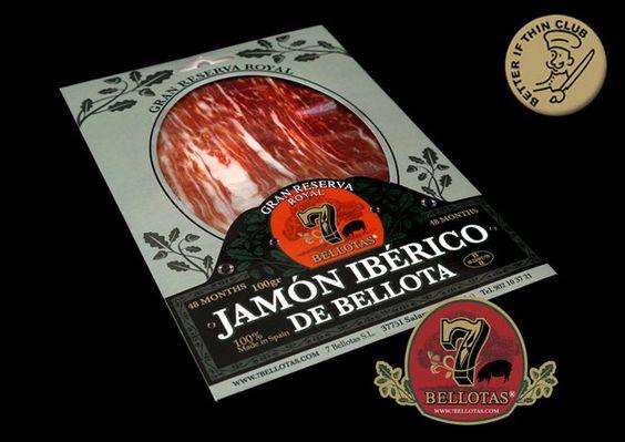 Prepara tu paladar para vivir una experiencia gastronómica única - Jamón ibérico de bellota http://7bellotas.com/ única en su especie