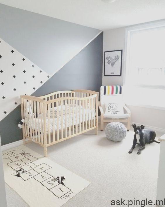 Chambre De Bebe Grise Et Blanche Creche Idees De Meubles Meubles Garcon Fille Quarto Joaozinho