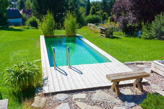 mini pool garten minimalistisch modern badewanne Garten und - poolanlagen im garten