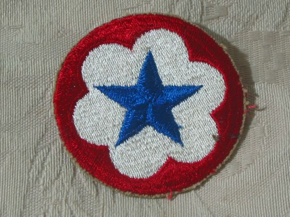 MILITARY SHOULDER PATCH Army Service Forces Pentagon Staff Uniform Insignia  Junk_583  http://ajunkeeshoppe.blogspot.com/