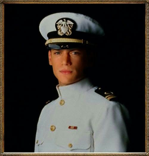 Wentworth as a Navy Leutinant