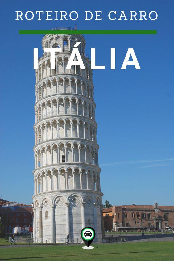 Roteiro de carro pela Itália, passando por Roma, Milão, Florença, Toscana, Siena, Cinque Terre e muito mais! Veja quanto dias ficar em cada lugar e faça uma das melhores viagens pela Europa!