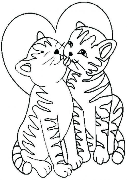 Ausmalbilder Katzen Fur Kinder Ausmalen Katzen Malvorlagen Coloringpagesforkids Painting Coloring Pages Coloring Pages For Kids Cat Drawing