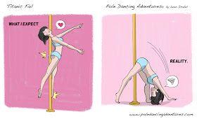 Pole Dancing Adventures (PDA) - The Original Pole Dance Webcomic Series: Titanic Fail