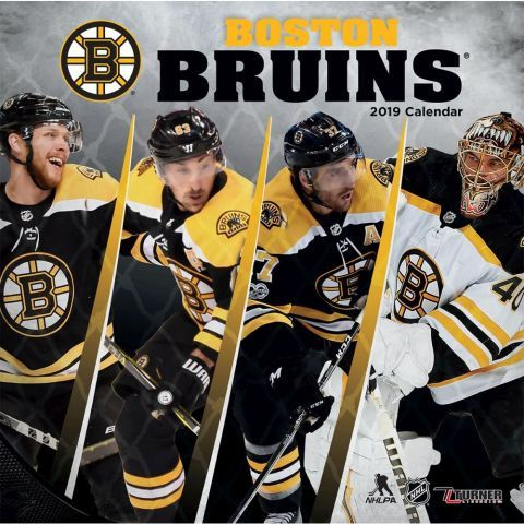 Boston Bruins 2019 Calendar This Wall Calendar Is A Must Have For Any Die Hard Boston Bruins Fan Made For Passionat Boston Bruins Bruins Boston Bruins Hockey