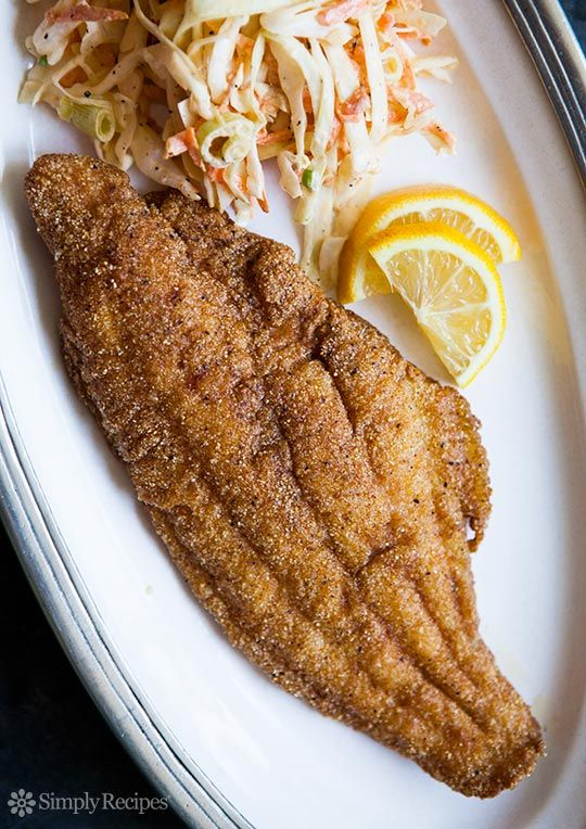 Pinterest the world s catalog of ideas for Cornmeal fried fish