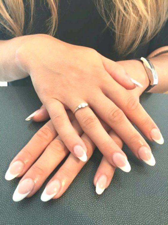 67 Short And Long Almond Shape Acrylic Nail Designs Longnails Longnailideas Longc Acrylic French Manicure French Acrylic Nails French Manicure Acrylic Nails