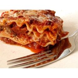 This is my mom's special homemade lasagna recipe with made from ...