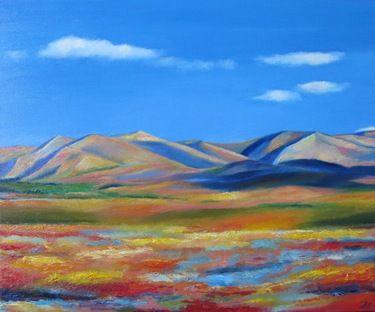 """Saatchi Online Artist Ieva Baklane; Painting, """"""""In the bloom"""""""" #art"""