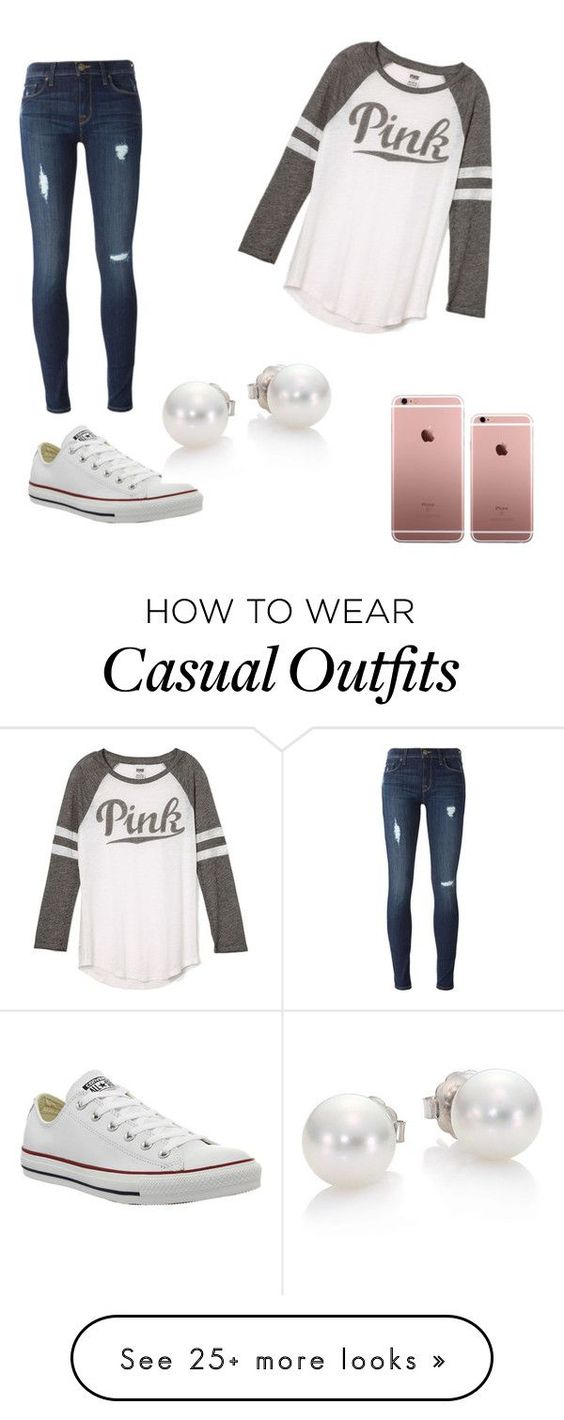 """Casual Day "" by princessbrandik on Polyvore featuring Victoria"