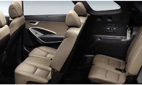 Hyundai Santa Fe Xl Interior In 2020 Hyundai Santa Fe Hyundai Hyundai Suv