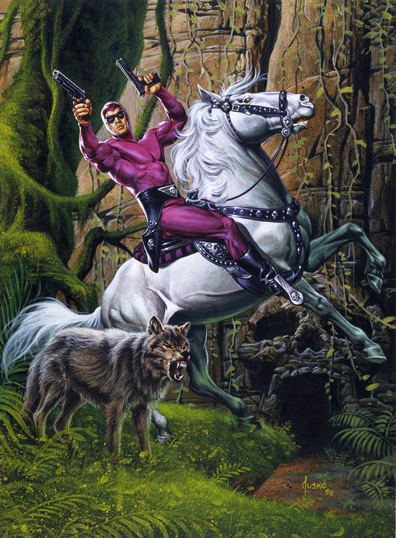 The Phantom ~ Joe Jusko