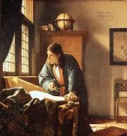 The Geographer, by Vermeer