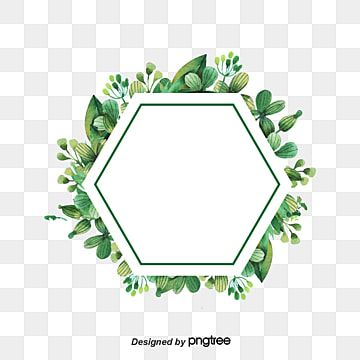 Painted Green Leaves Border Green Vector Border Vector Green Png And Vector With Transparent Background For Free Download In 2021 Leaf Border Autumn Leaves Background Leaf Background