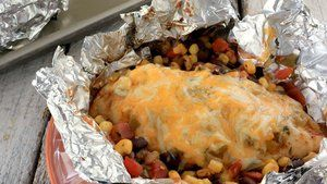 Southwest Chicken Foil Packet