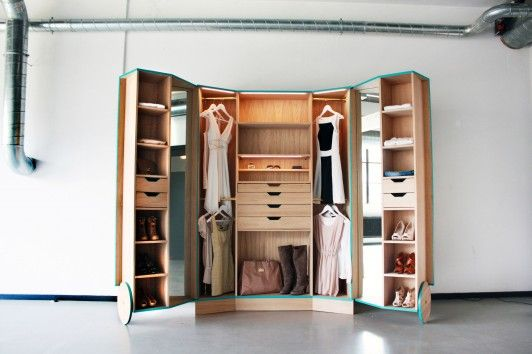 Walk-In Closet by Ho Sun Ching. Spotted at the Dutch Design Week.
