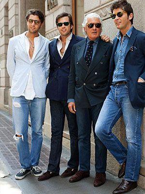 Moda Masculina - Como usar blazer e calça jeans - Anita Men