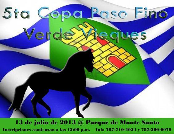 Copa Paso Fino Verde Vieques 2013 @ Parque de Monte Santo, Vieques #sondeaquipr #pasofino #vieques #parquemontesanto #copapasofinaverdevieques