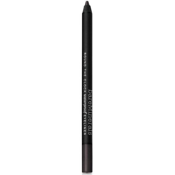 Bare Escentuals bareMinerals Round the Clock Waterproof Eyeliner ($16) ❤ liked on Polyvore featuring beauty products, makeup, eye makeup, eyeliner, bare escentuals eyeliner, bare escentuals and bare escentuals eye liner