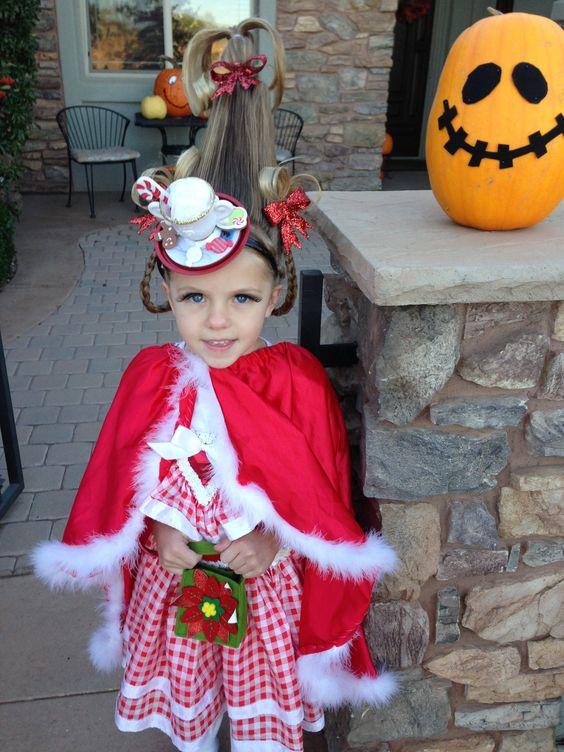Cindy Lou Who Halloween Costume Halloween Pinterest