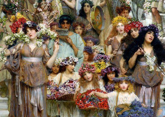 Princesa Nadie: La llegada de la Primavera