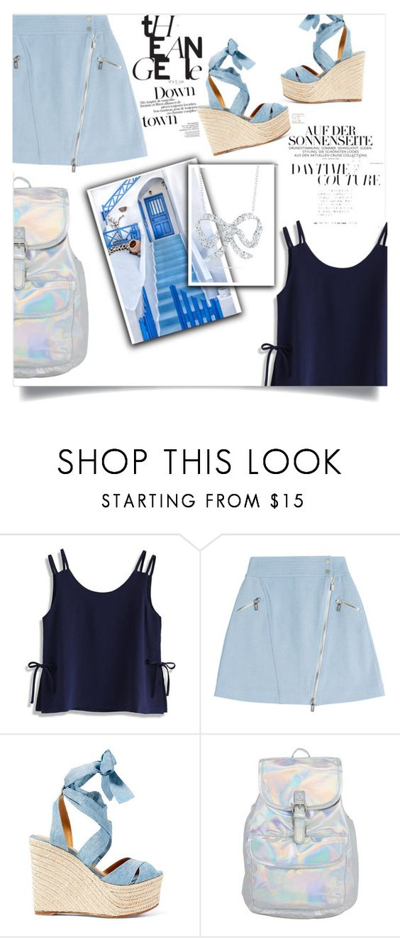 """""""❀ summer vacation ❀"""" by weirdbutsuitablepersona ❤ liked on Polyvore featuring Chicwish, Karl Lagerfeld, Ralph Lauren and Roberto Coin"""