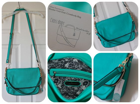 um, LOVE this -- seen in others past fixes... very much in need of a new bag, and this looks like a winner - would love to see this in my Stitch Fix!  Urban Expressions Booker Fold Over Crossbody Bag - Teal Green