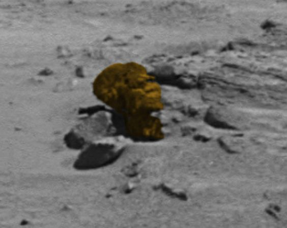 UFO SIGHTINGS DAILY: Ancient Head Found On Mars Close Up HD Photo! Nov 26, 2014, UFO Sighting News.: