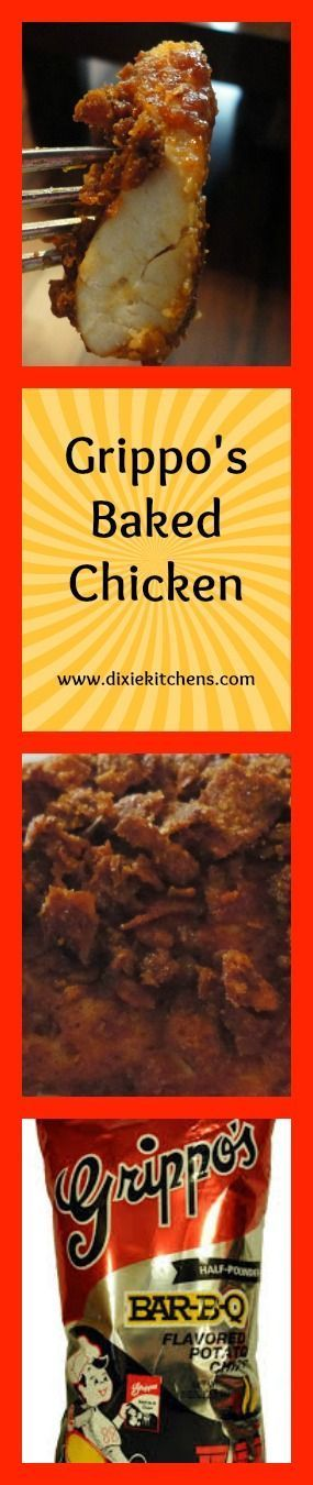 This is one of the best chicken recipes I've ever tried!  Use BBQ chips for the breading and bake!  YUM!