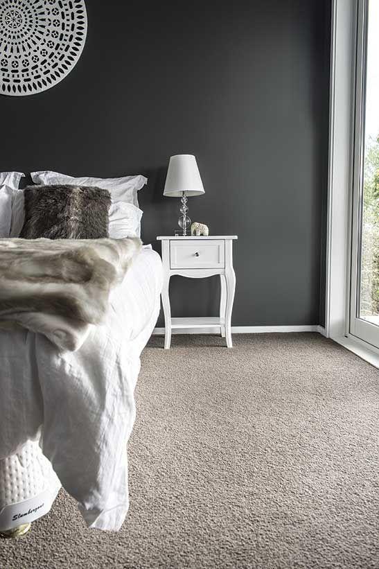 Feltex Carpets The Block Nz Quinn And Ben Master Bedroom Get The Look Simple Bedroom Bedroom Carpet Colors Grey Carpet Bedroom