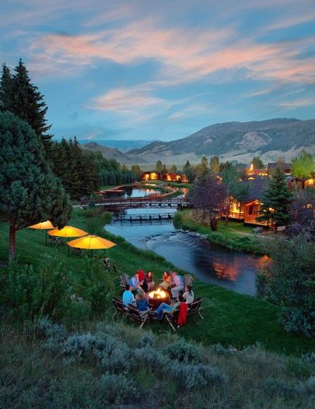 Jackson Hole Lodging Rustic Inn Creekside Resport And