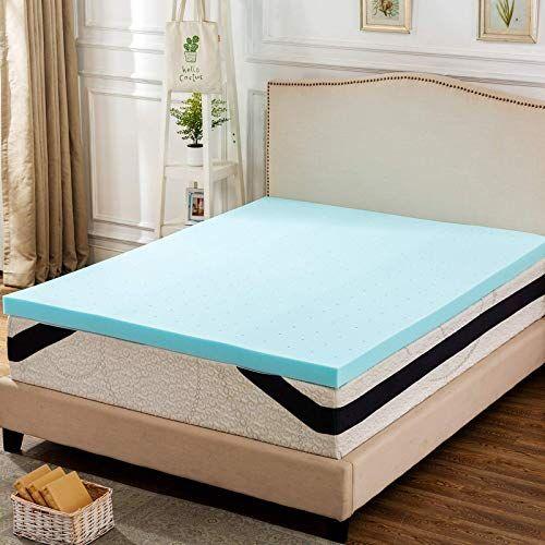 New Anj 3 Inch Gel Infused Memory Foam Mattress Topper Back School Twin Xl Online Shopping In 2020 Memory Foam Mattress Topper Mattress Foam Mattress
