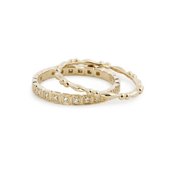 14k Diamond Hazel Eternity Ring – Envero Jewelry