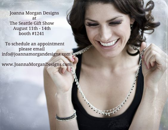 Joanna Morgan Designs will be at The Seattle Gift Show in August!