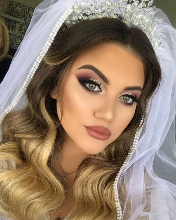 Noiva com maquiagem nude